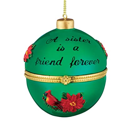 amazon com collections etc holiday sentiment trinket ornaments