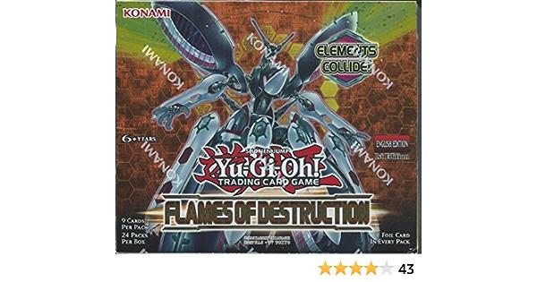Flames of Destruction YUGIOH 3 X LLAMAS DE LA DESTRUCCIÓN ESPAÑOL SELLADOS
