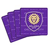 MLS Orlando City SC Neoprene Coasters, 4-Pack