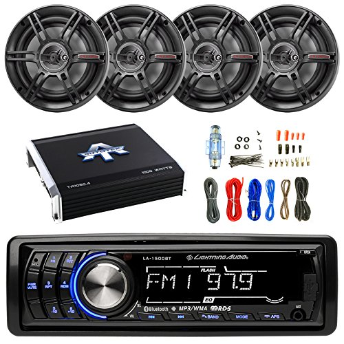 1000 watt amp with fan - 1
