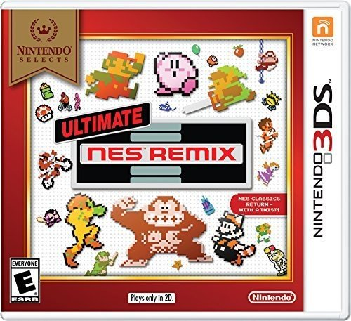 Nintendo Selects: Ultimate NES Remix - 3DS - Kid Nintendo Nes Game