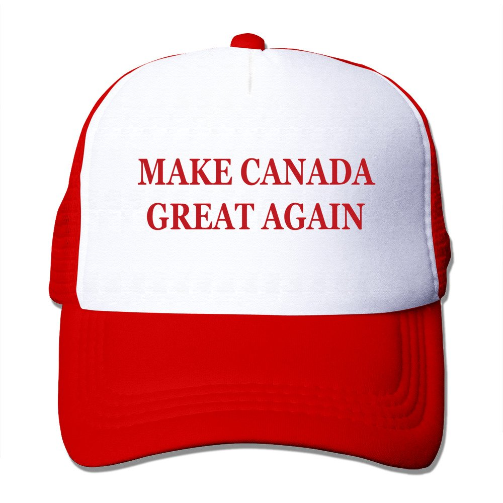 WZN Make Canada Great Again Baseball Caps With Red