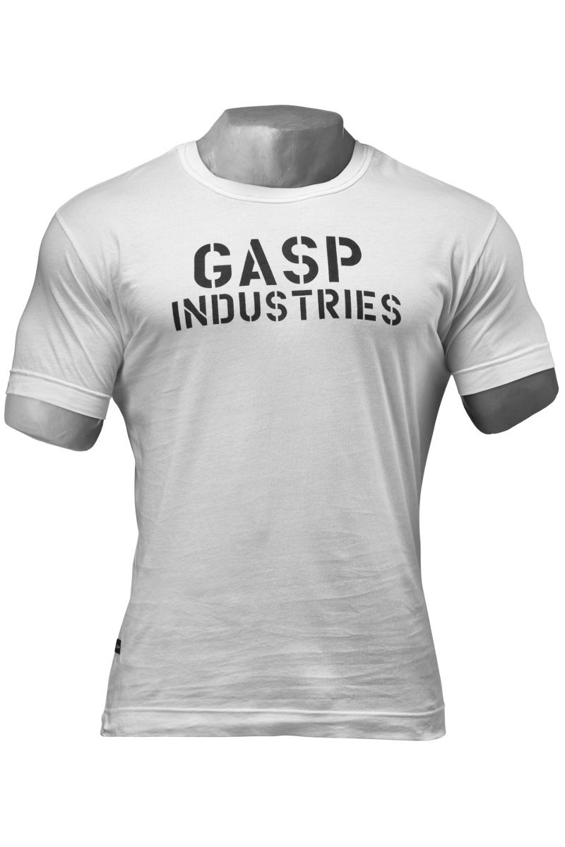 Gasp Standard Issue Tee off White