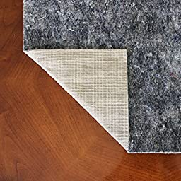 5 x 8 Anchor-Grip 22 ® Premium Non Slip Rug Pad - Felt and Rubber Area Rug Pad - Made in the USA