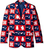 NFL New England Patriots Men's Patches Ugly Business Jacket, Size 50/XX-Large