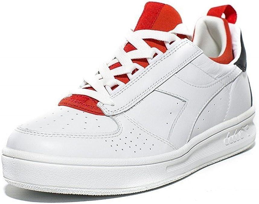 Scarpe sneakers uomo diadora heritage b elite weave rosso