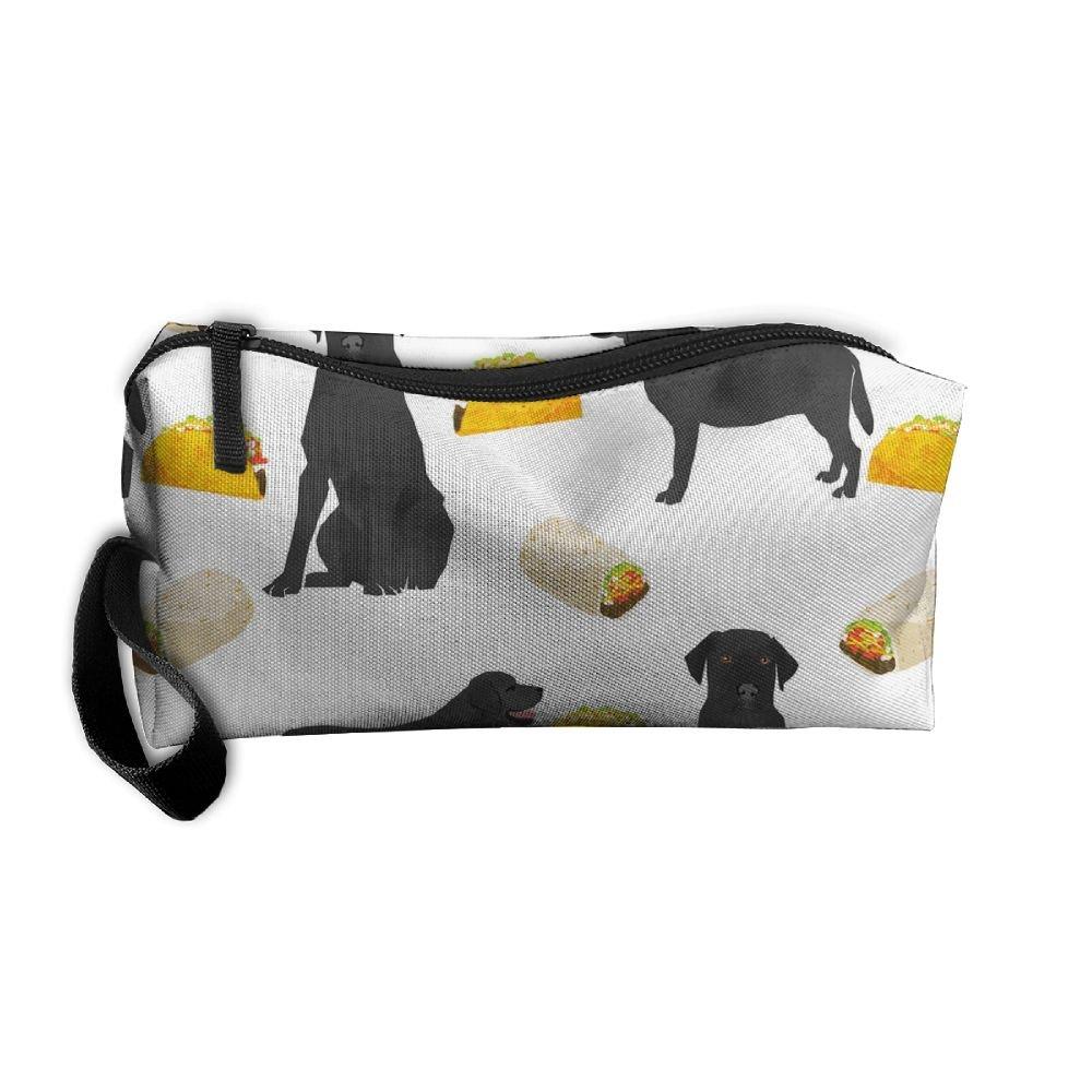 Bolsa de bolsas de cosméticos cepillo negro Lab Burrito (480 ...