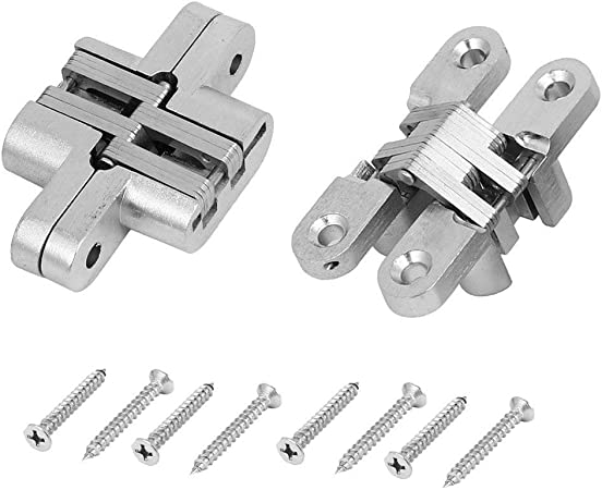 """2pcs Stainless Steel Door Hinges 3/"""" X 1.5/"""" Table//Gate//Cabinet Hinges"""