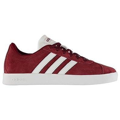 Adidas VL Court 2.0 K, Zapatillas de Deporte Unisex niño, Rojo (Buruni/Ftwbla/Gridos 000), 31.5 EU: Amazon.es: Zapatos y complementos