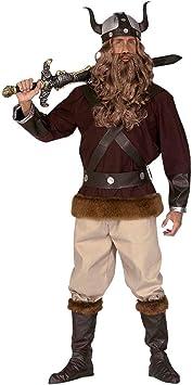 NET TOYS Disfraz de Vikingo o bárbaro Traje Guerrero: Amazon.es ...