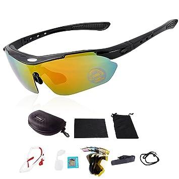 Playbook 0089 polarizadas deporte gafas de sol Ciclismo gafas para hombres mujeres tenis Running pesca conducción