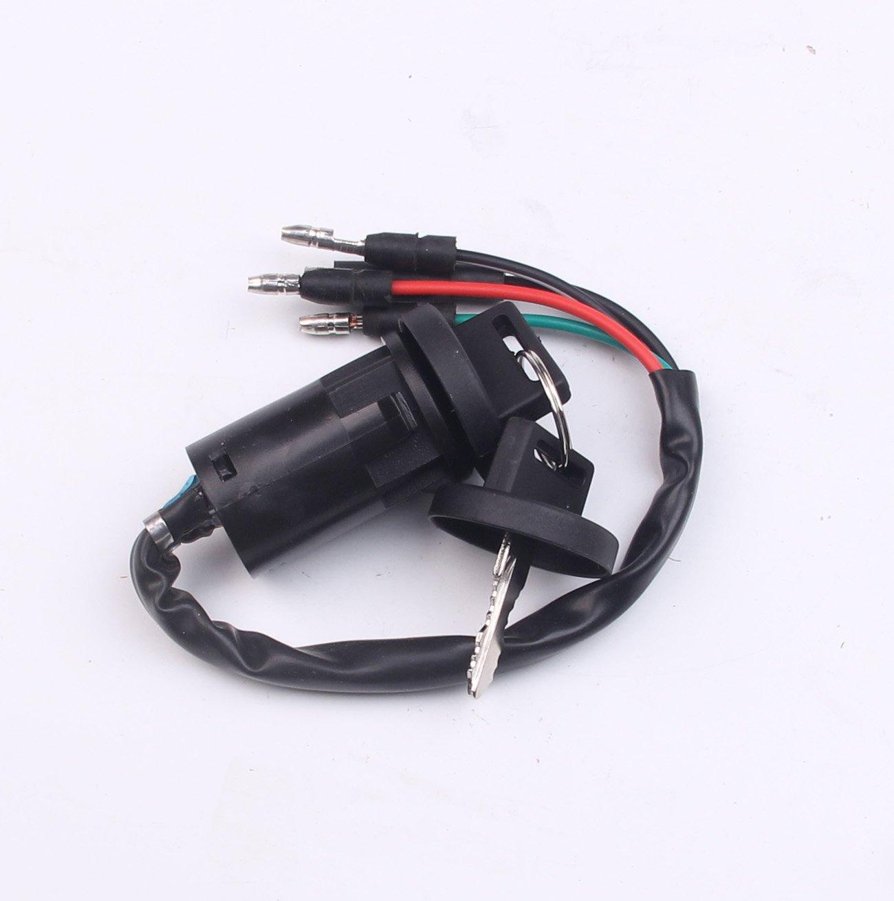 NEW Ignition Key Switch for Honda FourTrax 200 TRX200SX 1986-1987 BH-Motor