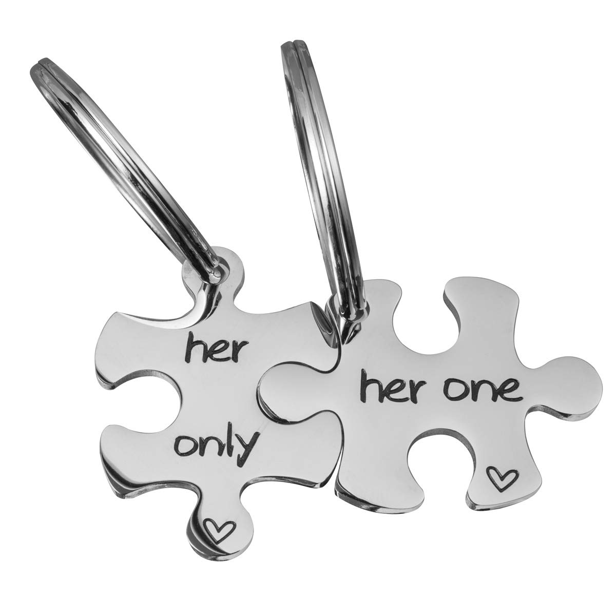 f6dc357c1e COMISAN Gay Couples Jewelry Gay Couple Keychains Personalized Couples  Jewelry Couples Puzzle Keychain His One His Only Keychains Set of 2 Gift  for Boyfriend ...