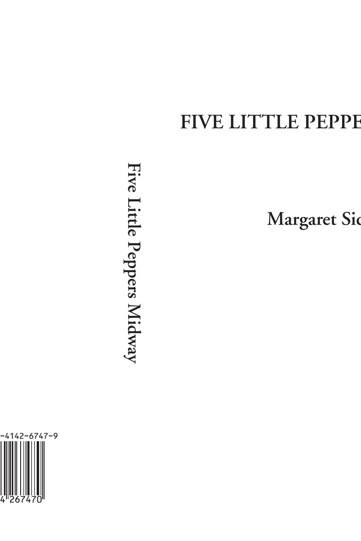 Read Online Five Little Peppers Midway pdf epub