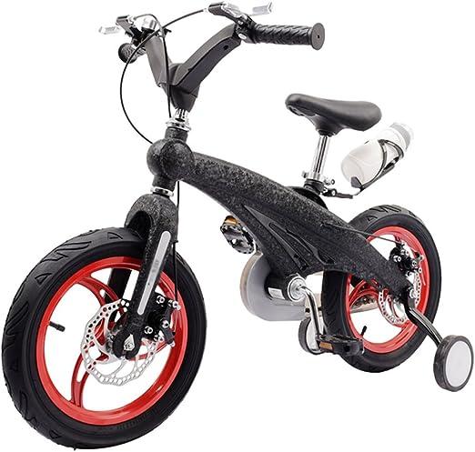 Bicicletas infantiles con Pedales Niños Niñas el Transporte de Bicicletas Bicicleta Infantil con Ruedas de Entrenamiento de Flash Carro Alumnos de Bicicletas de montaña HUYP: Amazon.es: Hogar