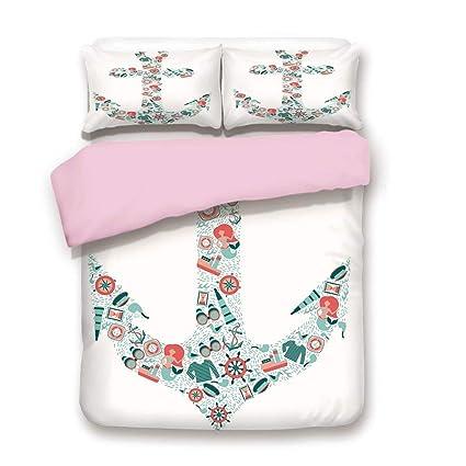 Amazon.com  Pink Duvet Cover Set 823d83b12