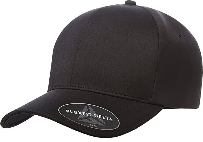 06b024b59e2ce Amazon.com  Flexfit Men s Seamless Fitted Flexfit Delta Cap  Clothing