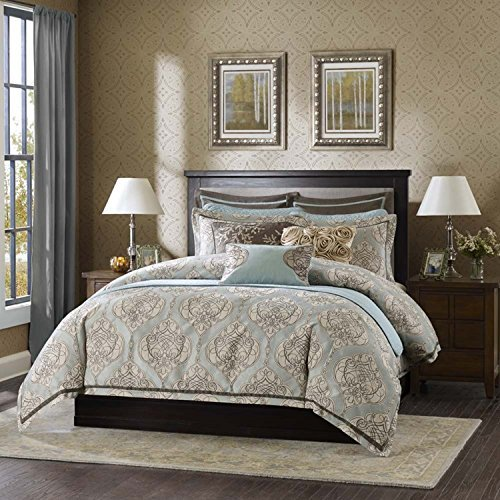Hampton Hill Westminster Comforter Set, Queen, Multicolor
