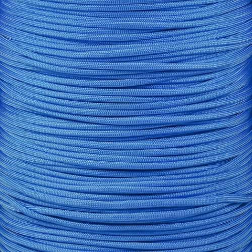SGT KNOTS Paracord 550 Type III 7 Strand - 100% Nylon Core and Shell 550 lb Tensile Strength Utility Parachute Cord for Crafting, Tie-Downs, Camping, Handle Wraps (4mm - 1000 ft - Baby Blue)
