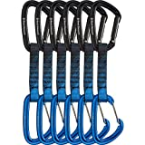 Black Diamond PosiWire Quickpack - 6-Pack Black/Blue, 12cm