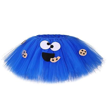 JJAIR Cosplay Traje Azul Oreo Galletas para niñas, Trajes de Tul ...