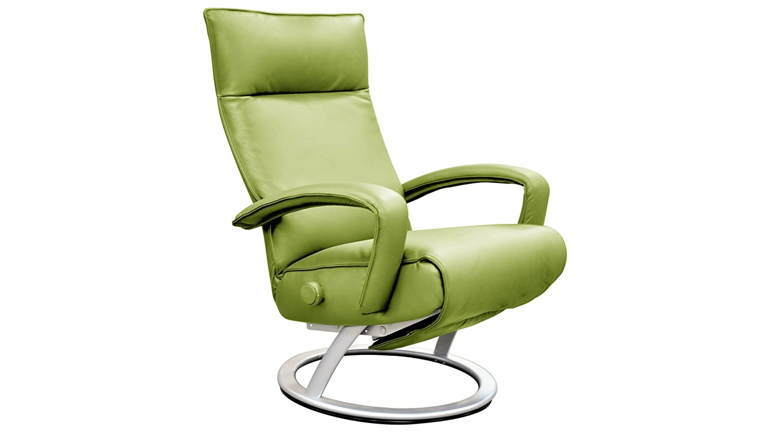 Amazon.com: Gaga Recliner Chair Mint Green Leather By Lafer Recliner Chairs:  Kitchen U0026 Dining
