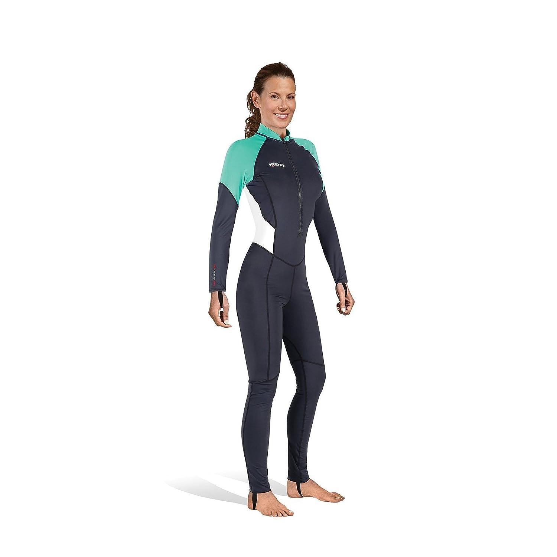 MARES - 412546S/392 : Camiseta proteccion solar mujer Rash Guard TRILASTIC OVERALL she dives