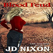 Blood Feud Audiobook by JD Nixon Narrated by Cat Gould