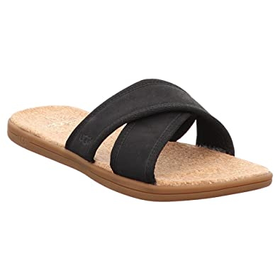 bb58f2078670c4 UGG - Sandals Seaside Slide 1092172 - Black: Amazon.co.uk: Shoes & Bags