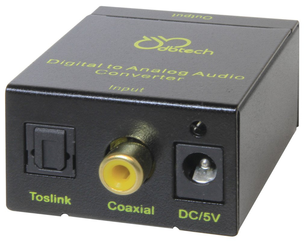 Amazon.com: DBTech Digital to Analog Audio Converter for all Panasonic VIERA TC-L19C30, TC-L24X5, TC-L32X5, TC-L42D30 & TC-55LE54 IPS Full HD LED HDTV Large ...