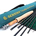 Maxcatch for Traveler 7-piece Fly Rod IM10 Carbon Travel Rod Fly Fishing(5weight 9ft)