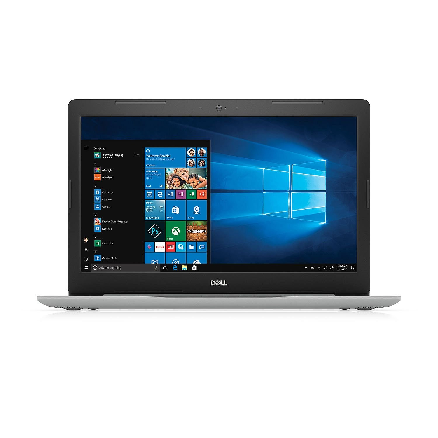 "2018 Newest Dell Inspiron 15.6"" Full HD Anti-Glare Laptop, 8th Intel Quad-Core i7-8550U 1.8GHz 16GB DDR4 256GB SSD+1TB HDD DVDRW MaxxAudio Backlit Keyboard 802.11ac Bluetooth HDMI USB Type-C Win 10"