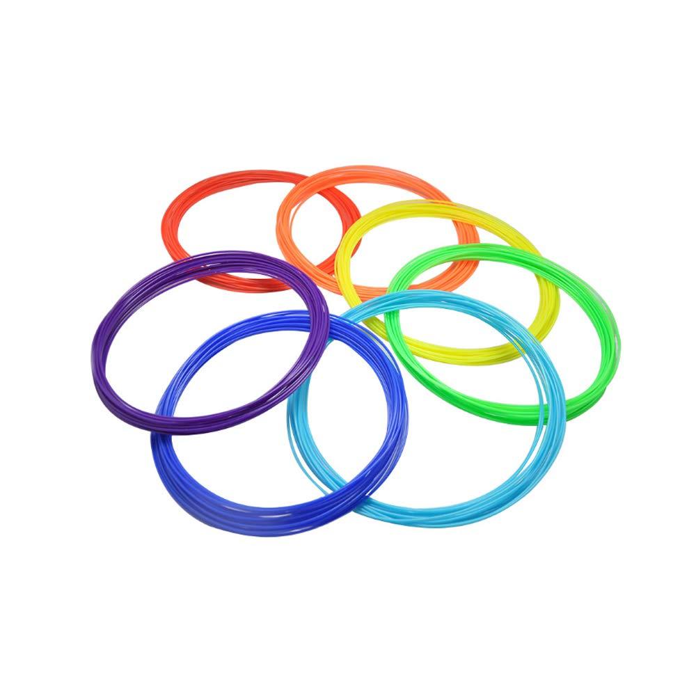 KITOART 3D Pen//3D Printer Filamen t Refills 1.75mm,10 Colors Included,High-Precision Diameter Filament Each Color 10 Feet