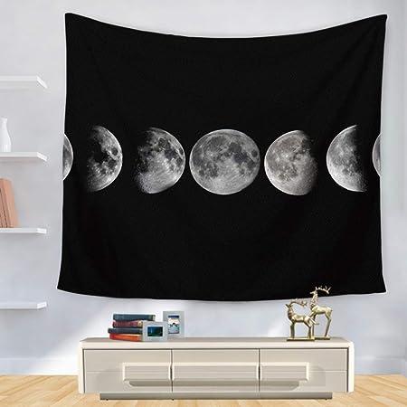 GATANI Tapiz Boho Moon Gradient Tapestry Alfombras Alfombras ...