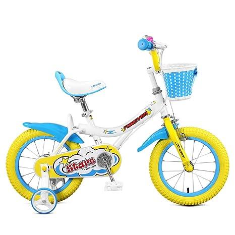TLMYDD Bicicletas para niños Bicicletas para bebés de 4-8 ...