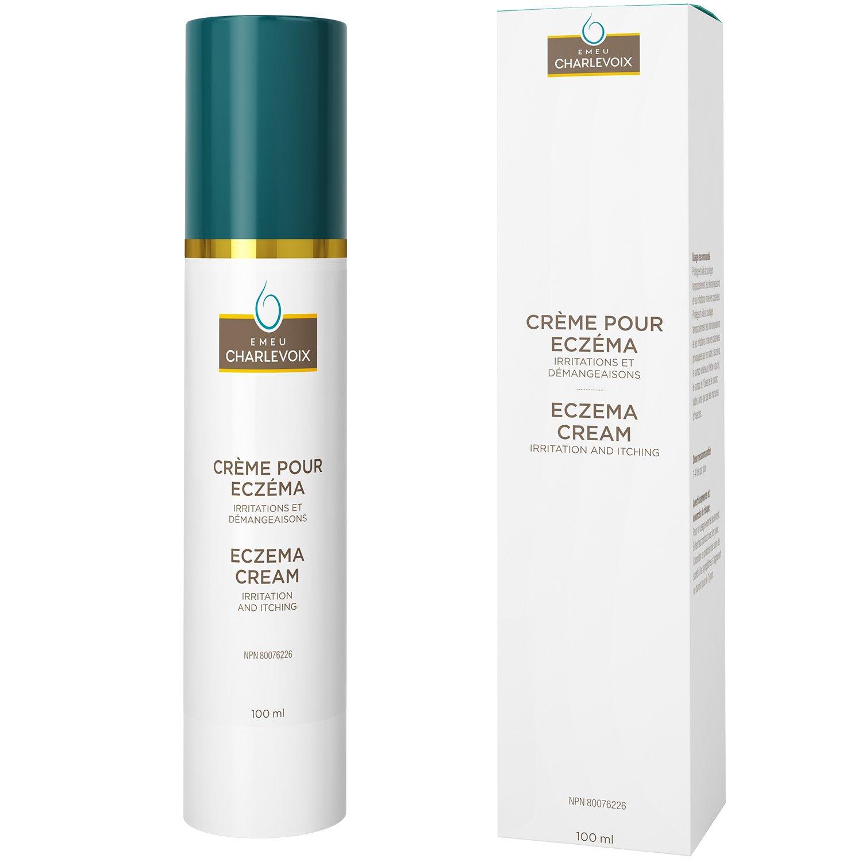 Emeu Charlevoix Eczema relief emu oil moisturizing & healing cream, 100ml 40000