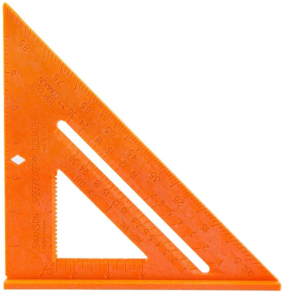 Swanson Speed Square Orange 8 /""