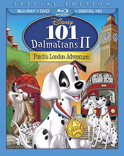 - 101 Dalmatians II: Patch's London Adventure [Blu-ray]