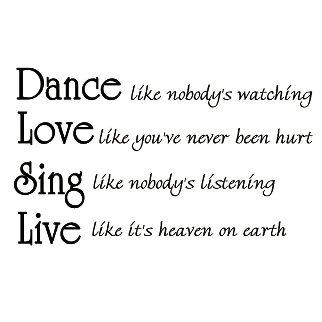 Image result for dance like nobody's watching