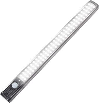 Details about  /USB Chargeable Closet Light For Induction Wardrobe Step Lights Bar Lighting