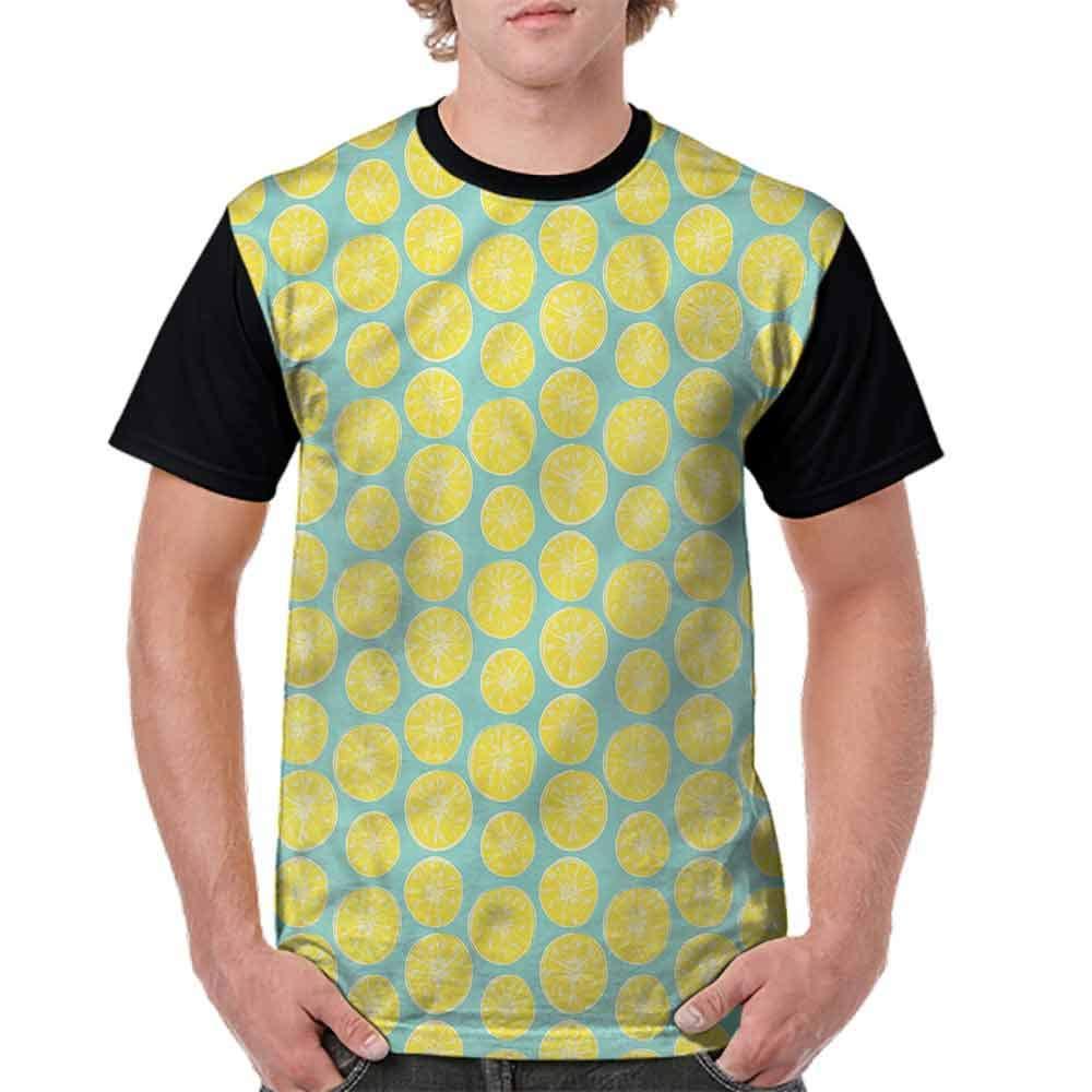 BlountDecor Teen t-Shirt,Rhombus and Mosaic Fashion Personality Customization