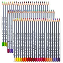 Niutop 72-Color Premier Soft Core Art Colored Drawing Pencils for Artist Sketch/Adult Secret Garden Coloring Book/ Kids Artist Writing/ Manga Artwork (72-Color)