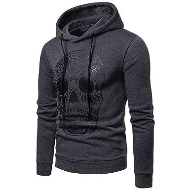 Herren Hoodie Pullover Longsleeve Jacke Kaputze Zip Shirt Pulli M,L,XL,XXL