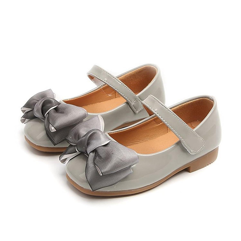 b6fd47a504f0 CYBLING Toddler Little Girls Ballet Flats Princess Ballerina Shoes Bow  Dress Mary Jane