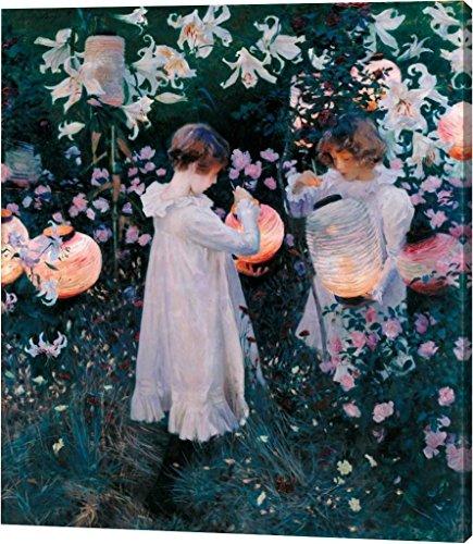 Carnation, Lily, Lily, Rose, 1885 by John Singer Sargent - 33