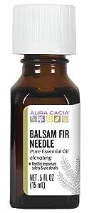 Aura Cacia Pure Balsam Fir Needle Essential Oil | 0.5 fl. oz. | Abies balsamea