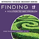 Finding a Solution to Any Problem: The Hypnotic Guided Imagery Series Speech by Gale Glassner Twersky ACH Narrated by Gale Glassner Twersky ACH