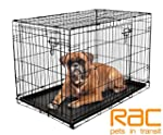 RAC Dog Cage - Metal, 2 Doors, foldin...