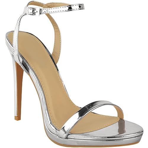 Sandali casual argentati per donna Fashion thirsty lTA9O