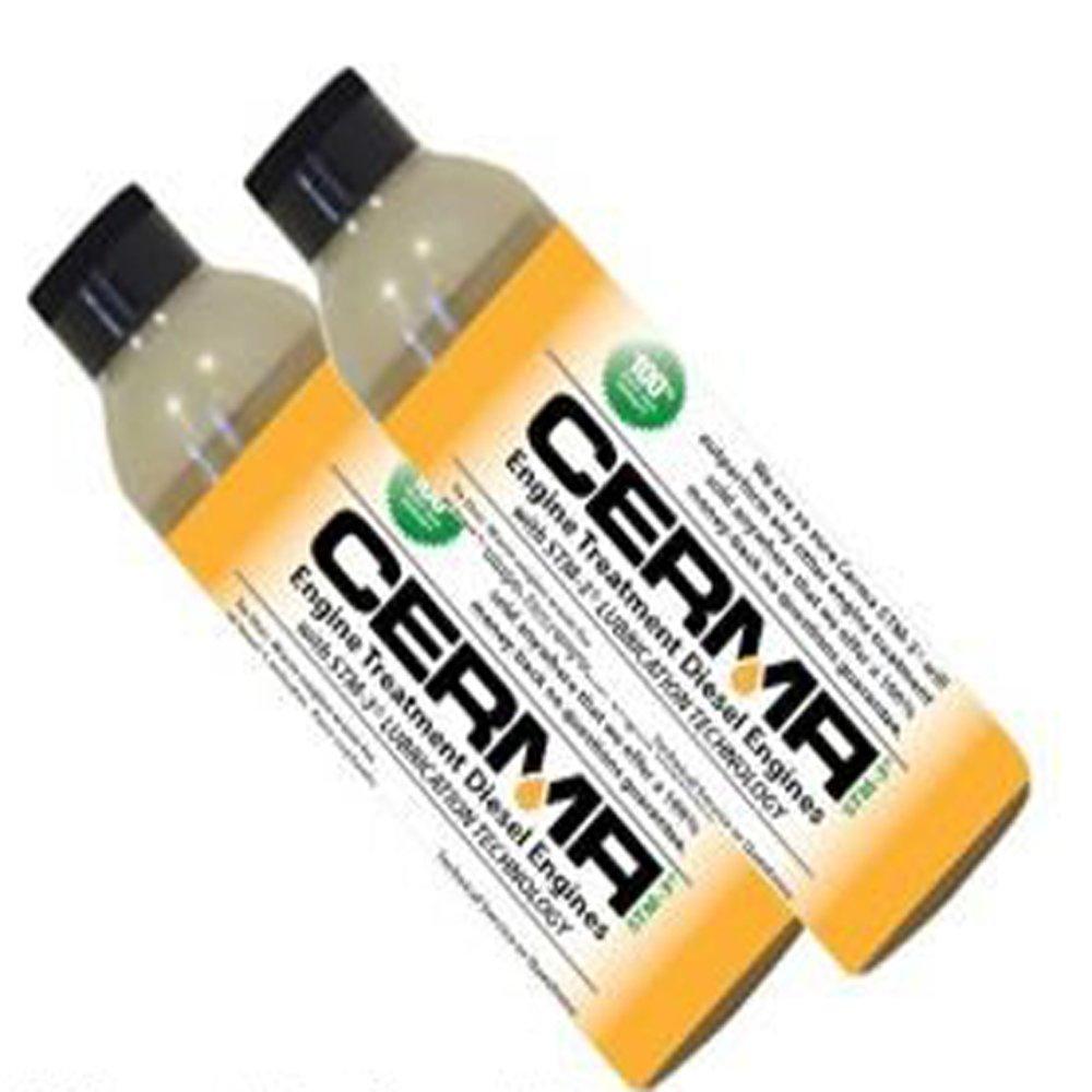 Large Diesel Engine Treatment 10 Plus Cylinder Vehicles 12oz. Bottle by Cerma